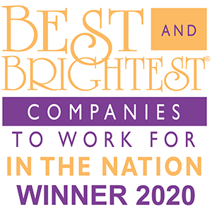 2020 Best and Brightest Companies to work for in the nation